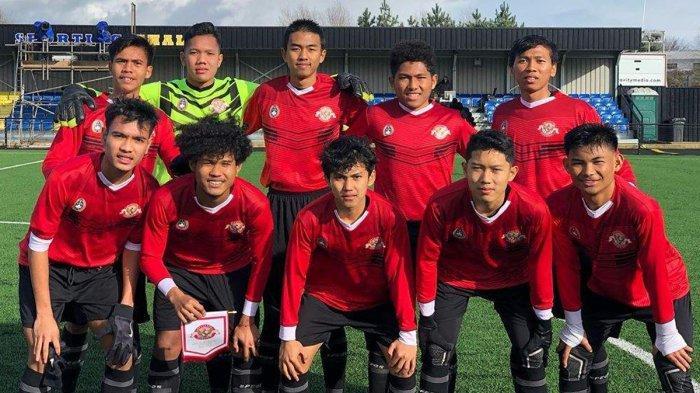 Garuda Select vs Huddersfield U18, Garuda Select Menang Telak 3-0, Bagus Kahfi Cetak 2 Gol