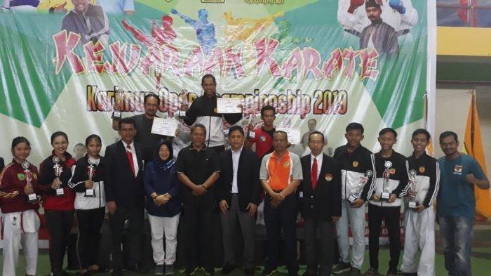 Karateka Karimun Juara Umum di Karimun Open Championship 2019, Kalahkan Tanjungpinang dan Batam