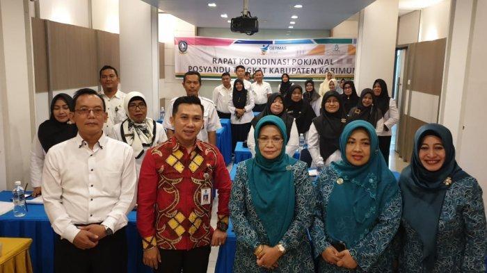 Dinkes Kepri Gelar Rapat Koordinasi Pokjanal Posyandu Tingkat Kabupaten Karimun