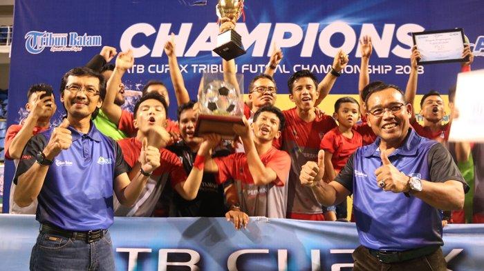 Turnamen ATB Cup IX Futsal Sukses Digelar, PTK FC Raih Piala Bergilir ATB Cup Futsal