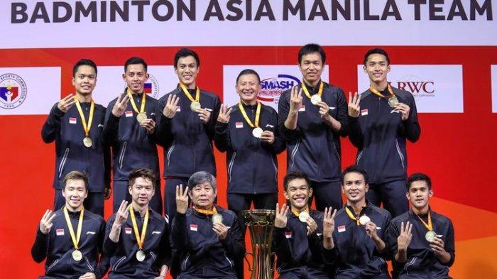 Setelah Juara Kejuaraan Beregu Asia 2020, Inilah Target Tim Bulutangkis Putra Indonesia Berikutnya