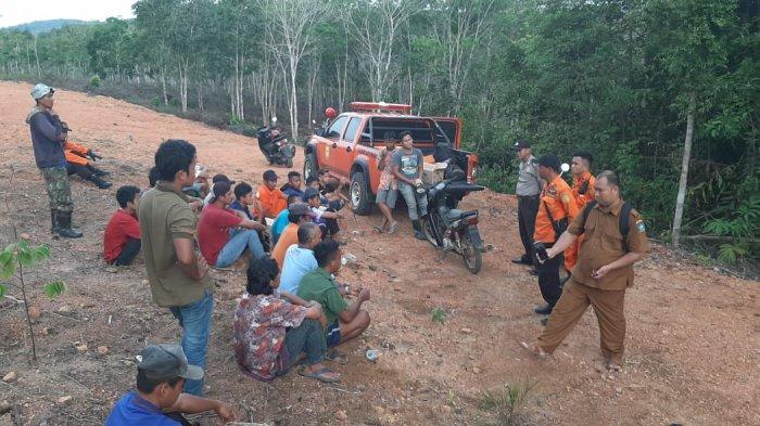 Masih Misterius, Tim SAR Gabungan Sisir Hutan Cari Warga Tembeling yang Hilang