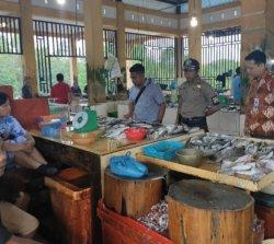 Satgas Pangan Polres Bintan Cek Harga Sembako ke Pasar Jelang Natal 2019, Ini Hasilnya