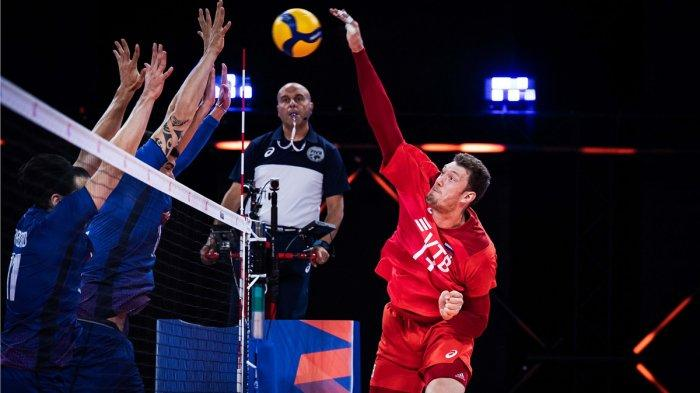 Volleyball Nations League 2021, Hari Ini Rusia vs Kanada, Jepang vs Italia Live O Channel