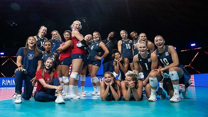 Hasil Volleyball Nations League 2021, Klasemen Matchday 10 Hari Ini: Korsel vs Serbia Live O Channel