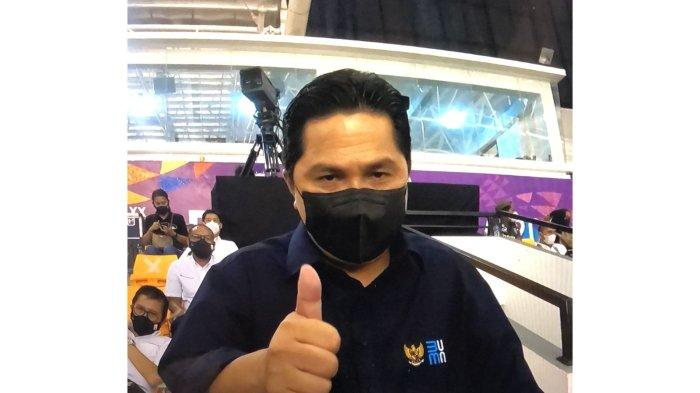 Menteri BUMN Apresiasi PT Timah Tbk Dukung Kontingen Babel di PON XX Papua