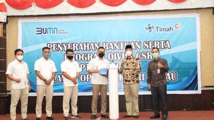 PT Timah Tbk Salurkan CSR Ratusan Juta di Provinsi Kepulauan Riau dan Riau