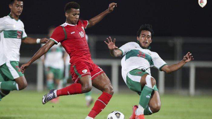 Hasil Timnas Indonesia vs Oman, Evan Dimas Cetak Gol, Skuad Garuda Kembali Telan Kekalahan