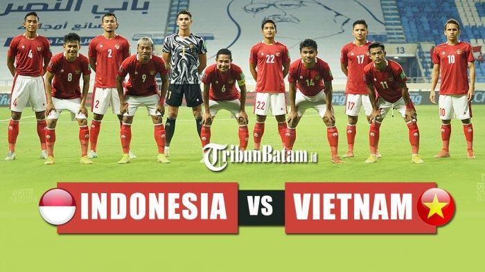 Jadwal Timnas Indonesia vs Vietnam Senin Kick Off 23.45 WIB, Shin Tae-Yong: Kita Siapkan Taktik Baru