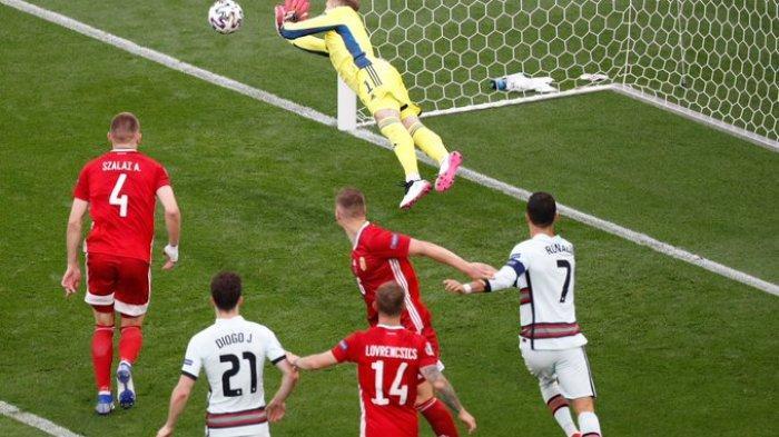 Hasil EURO 2020 - Cristiano Ronaldo Borong Dua Gol, Portugal Kalahkan Hungaria 3-0