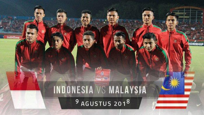 Jadwal Semifinal Piala AFF U16 2018. Timnas U16 Indonesia vs Malaysia U16. Kick Off Pukul 19.00 WIB