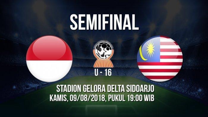 BREAKINGNEWS: Timnas U16 Indonesia Ke Final Piala AFF U16 2018 Usai Kalahkan Malaysia 1-0