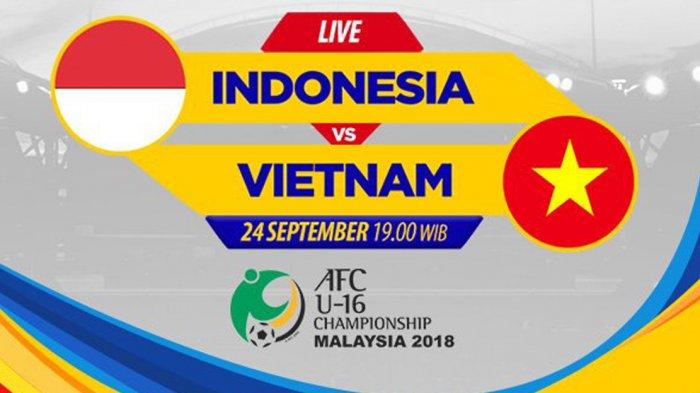 Hasil Lengkap & Klasemen Piala Asia U16 2018 Setelah Timnas U16 Indonesia Ditahan Imbang Vietnam
