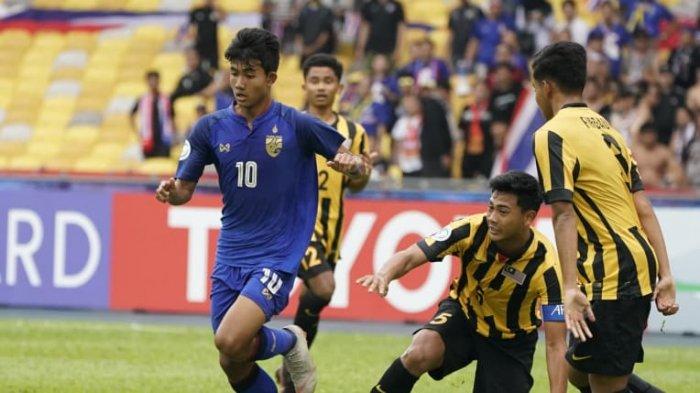 AFC U16 2018 - Eforia Timnas U16 Malaysia Dihentikan Thailand, Kalah 2-4