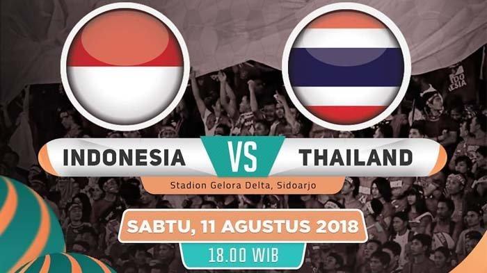 Link Live Streaming Final Piala AFF U16 Indonesia vs Thailand Sabtu Malam Ini. Kick Off 19.00 WIB