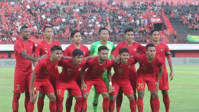 Susunan Pemain Indonesia vs Brunei di Kualifikasi Piala Asia U23 2020, Indra Sajfri Lakukan Rotasi