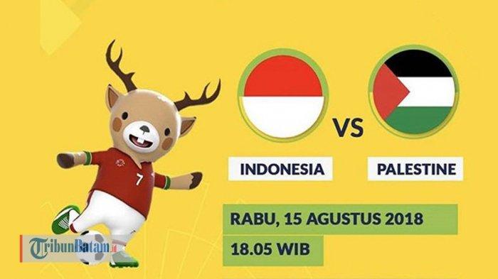Timnas U23  Indonesia vs Palestina. Jadwal & Live Streaming SCTV. Kick Off Jam 19.00 WIB Malam Ini