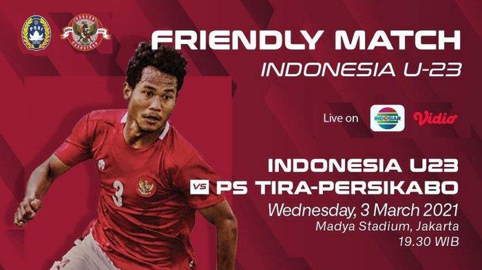 Timnas U23 Indonesia vs Tira-Persikabo Live Indosiar 19.30 WIB, Shin Tae-Yong: Kemampuan Meningkat