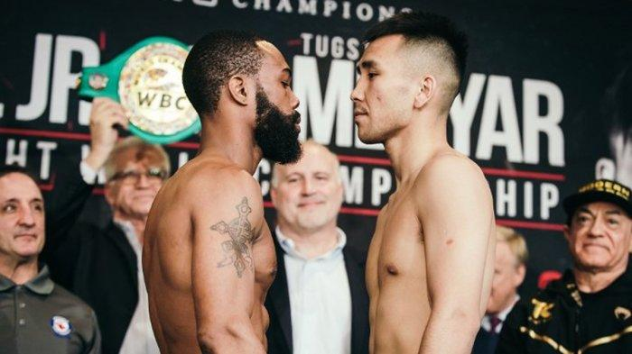 Live Streaming Tinju Dunia Gary Russell Jr vs Tugstsogt Nyambayar, Sabuk Juara Dunia Kelas Bulu WBC