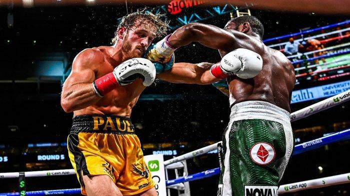 Gagal Menang KO Lawan Logan Paul, Mayweather: Saya Kaget, Ternyata Dia Kuat, Paul: Dia Sulit Dipukul