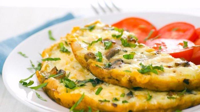 4 Tips Membuat Omelet Telur Fluffy Anti Gagal, Dijamin Ngembang dan Empuk