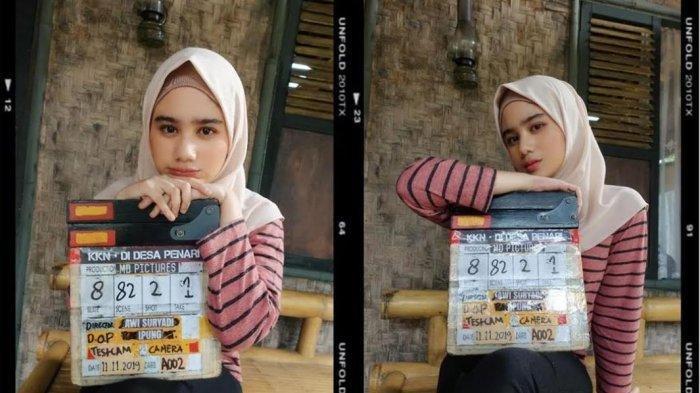 5 Potret Cantik Tissa Biani Pemeran Film KKN di Desa Penari, Tampil Modis dengan Hijab