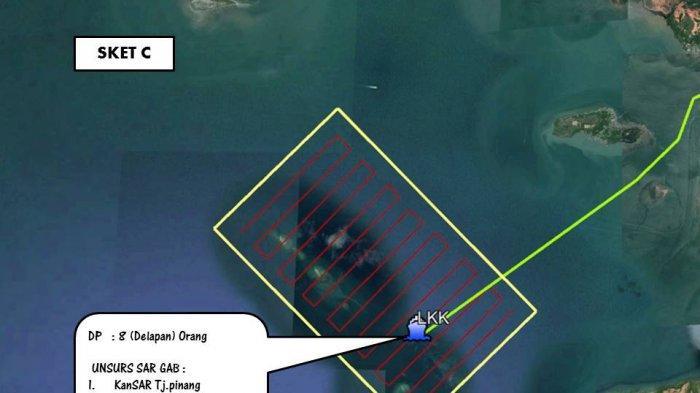 Kapal Bawa 8 Pemancing Ditemukan Kandas di Tanjungpinang, Penumpangnya Hilang Secara Misterius
