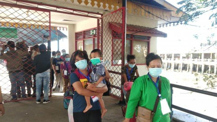 Sudah Tes Kesehatan Covid-19, 81 TKI asal Malaysia Lewat Tanjungpinang Tetap Dikarantina 14 Hari