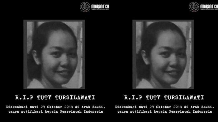 Keluarga Syok! Rutin Telepon Keluarga di Indonesia, Tuti Tursilawati Mendadak Dieksekusi Mati