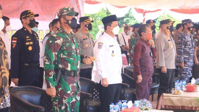 Gubernur Kepri dan Walikota Batam Hadiri Pembukaan TMMD ke-112