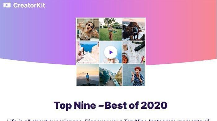 Cara Mudah Membuat Best NineInstagram2020, Ikuti Tips Ini