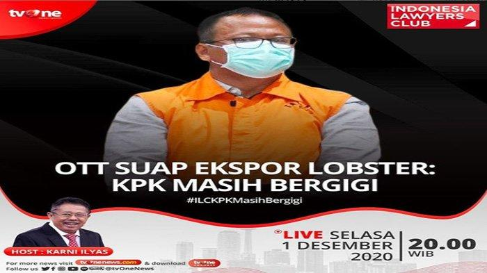 Topik ILC TV One Edisi Malam Ini, Pukul 20.00 WIB, Bahas Lobster hingga KPK, Rocky Gerung Hadir?