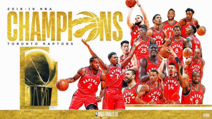 Hasil Final NBA Game 6 Toronto Raptors vs Golden State Warriors, Menang 114-110, Raptors Juara!