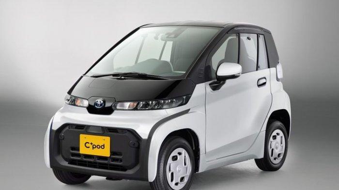 Diluncurkan di Tokyo, Inilah Mobil Listrik Terbaru Toyota C+pod, Berikut Spesifikasi dan Harganya