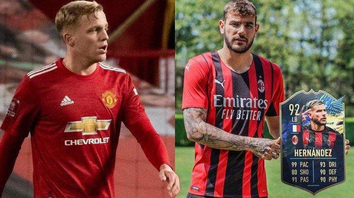 Transfer AC Milan - Milan Dekati Pemain MU Donny van de Beek, PSG Tak Paksa Theo Hernandez