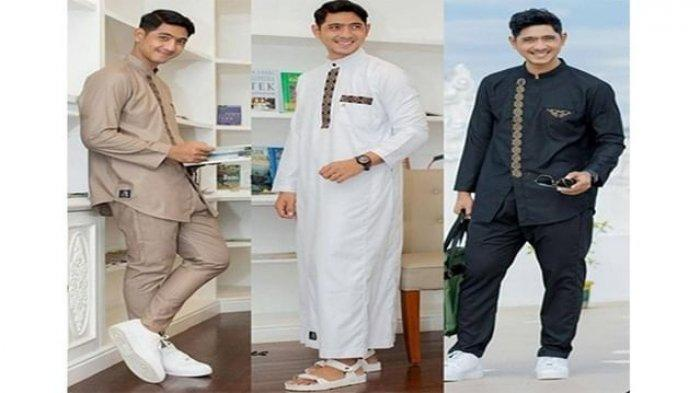 Tren Baju Lebaran 2021 untuk Pria, Makin Tampan dengan Setelan Busana Muslim Ala Arya Saloka