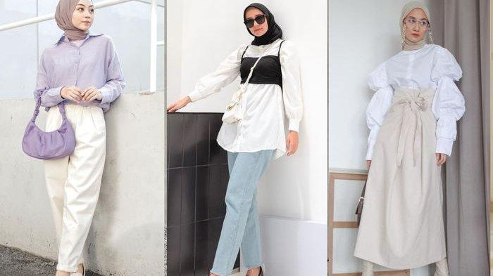 Tren Hijab 2021 Ketahui Item Fashion Yang Harus Dimiliki Puff Sleeves Hingga Vest Korea Tribun Batam