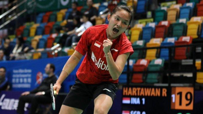 Hasil Kejuaraan Beregu Campuran Asia 2019, Kalahkan Singapura 3-0, Indonesia ke Semifinal
