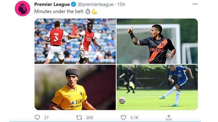 Jadwal Ujicoba Pramusim Klub Liga Inggris 25/7 Arsenal vs Inter Milan, 11/8 Chelsea vs Villarreal