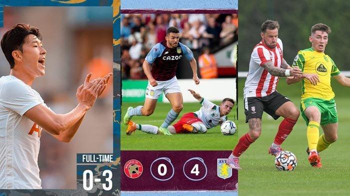 Hasi Ujicoba Pramusim Klub Liga Inggris 2021-2022: Tottenham 3-0, Aston Villa 4-0, Liverpool 1-1