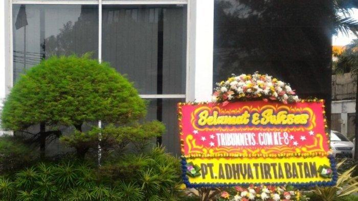 Gubernur Kepri, Wako Batam, BP Batam, ATB Kirim Karangan Bunga HUT Tribunnews.com