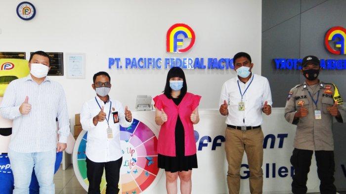 Rejeki Motor Bapak Fatolosa di Masa Pandemi Covid  'Undian Lucky Draw PFF PAINT'