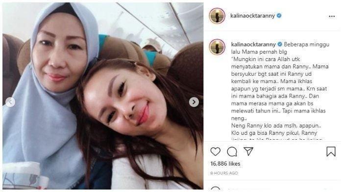 Unggahan Kalina Oktarani (instagram)