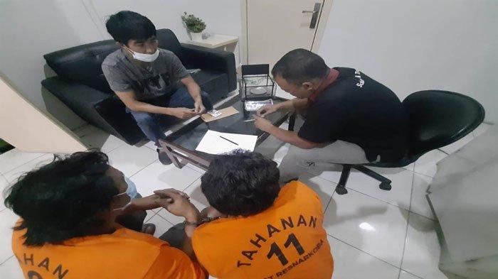 Ungkap Kasus Narkoba Polres Tanjung Pinang, Seorang Warga Kena Wajib Lapor