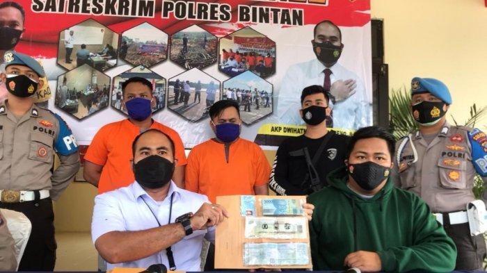 Polres Bintan Tangkap Mantan Debt Collector, Gelapkan Motor, Terancam 4 Tahun Penjara