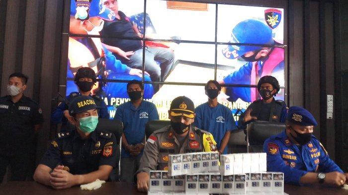 BREAKING NEWS, Satpolairud Polres Karimun Ringkus Penyelundup Rokok Ilegal