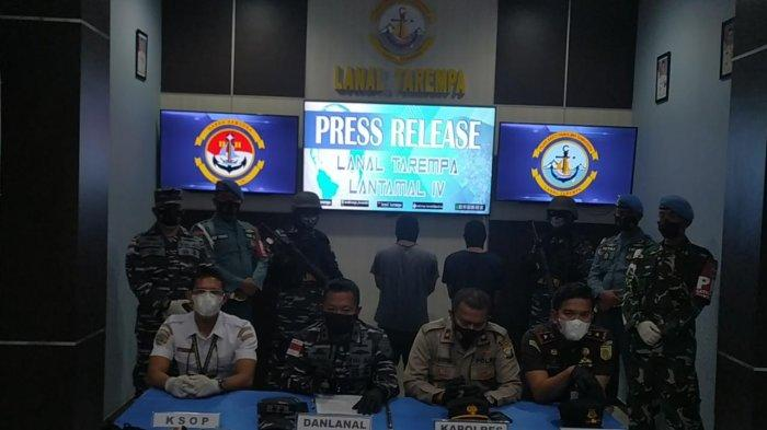 F1QR Lanal Tarempa Bekuk Kurir Sabu dari Tanjung Pinang, Barang Ditaksir Rp 70 Juta