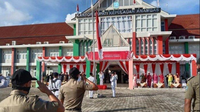 Upacara HUT Kemerdekaan Republik Indonesia di Anambas Digelar Terbatas Imbas Pandemi
