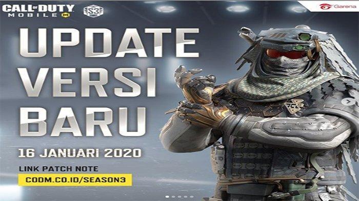 Update Call of Duty Mobile Versi Terbaru di Januari 2020, Ada Map dan Mode Terbaru