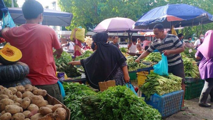 HARGA Sayur Mayur di Pasar Tos 3000 Batam saat Ramadhan Minggu 18 April 2021